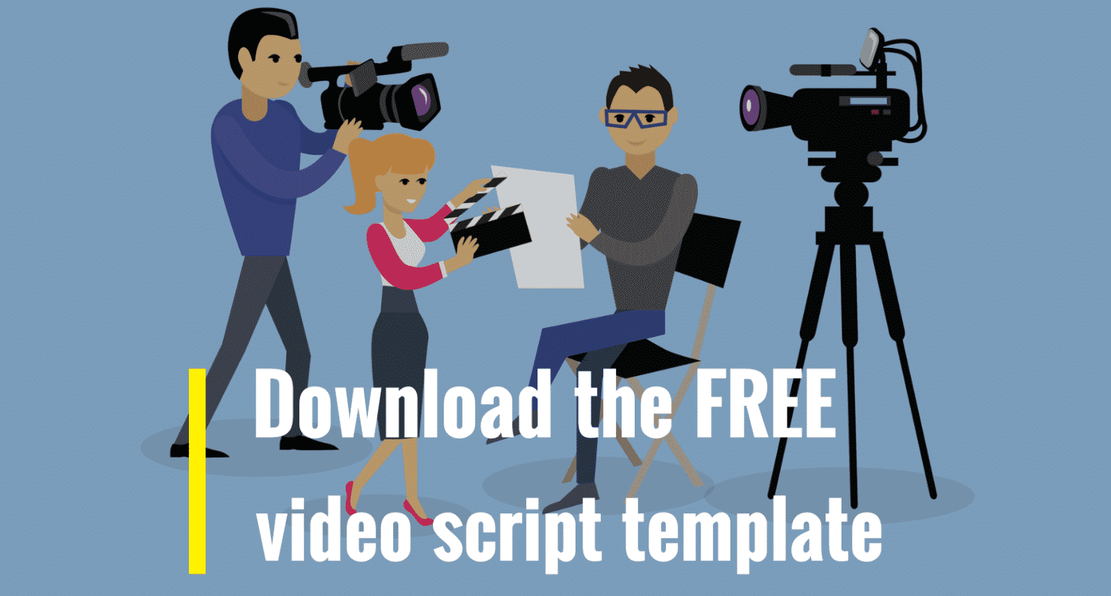 how to create running script video