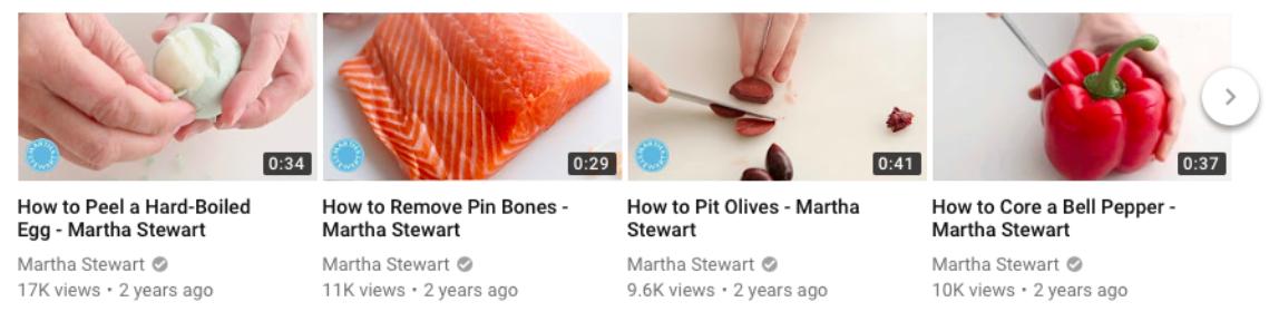 How to - Martha Stewart