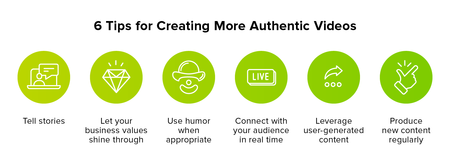 6 Tips for Creating More Authentic Videos