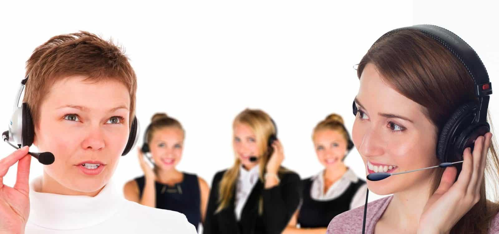 Stock footage call center