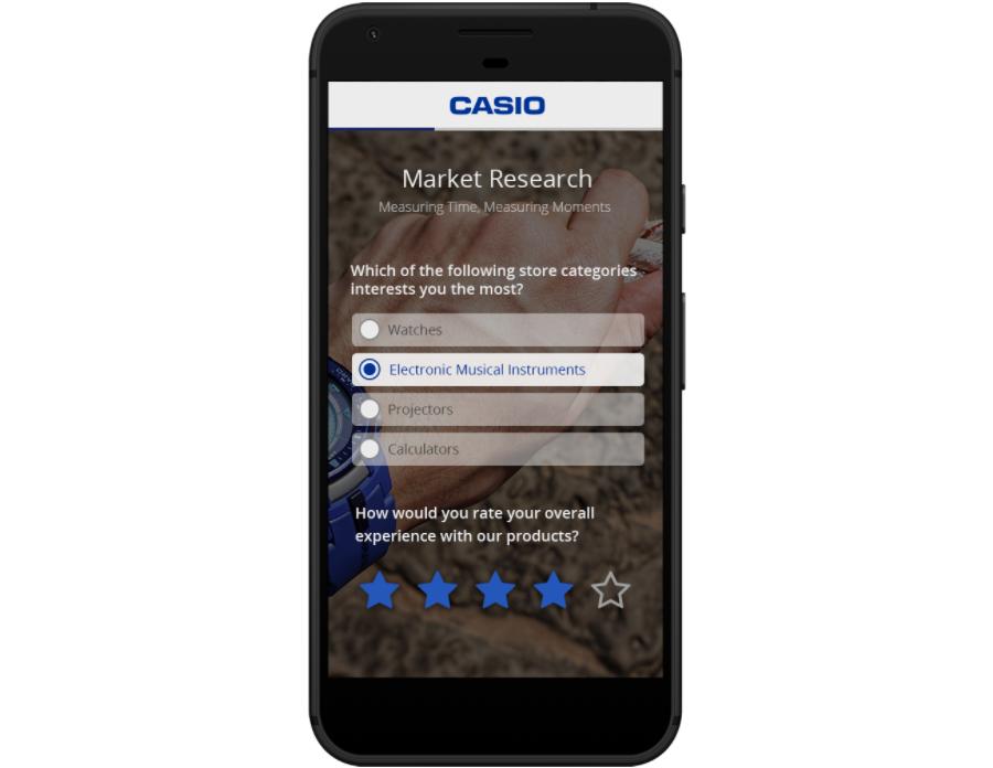 Casio research