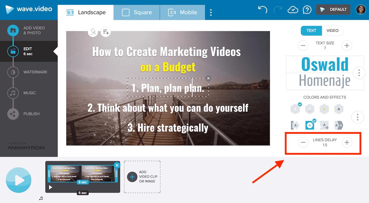How to create a video presentation