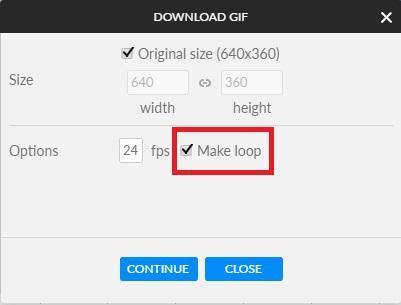 Make a GIF in Animatron Studio