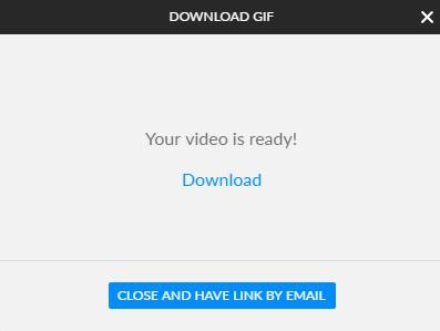 Create a GIF with Animatron Studio