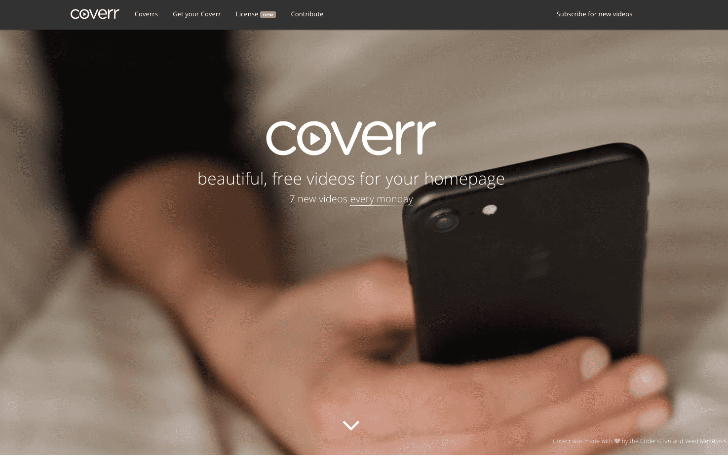 Free stock videos: Coverr