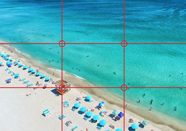 Understand the rule of thirds