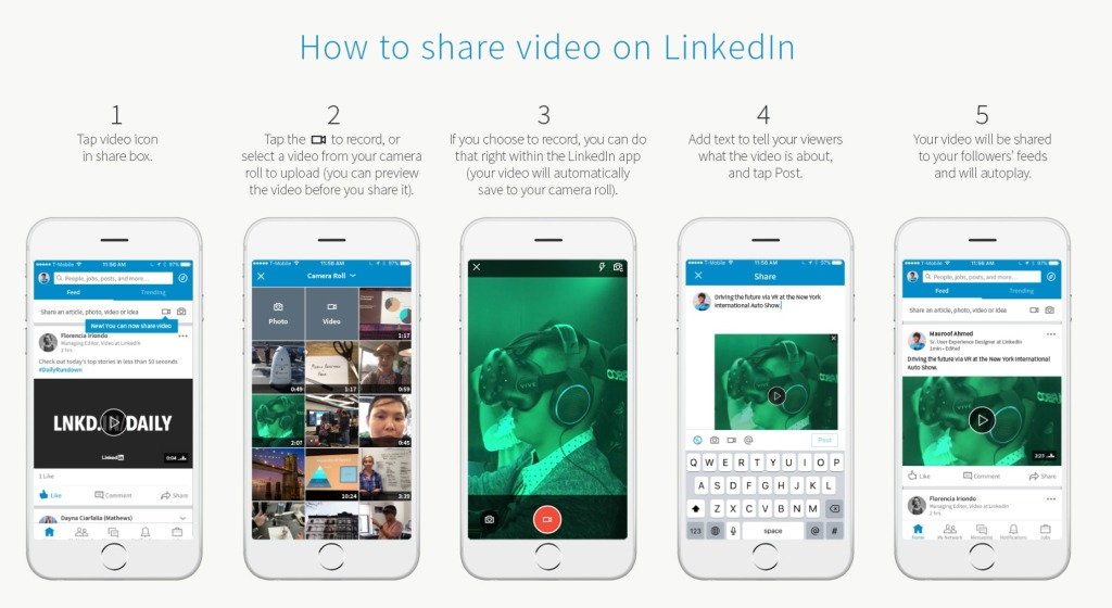 How to share video on LinkedIn