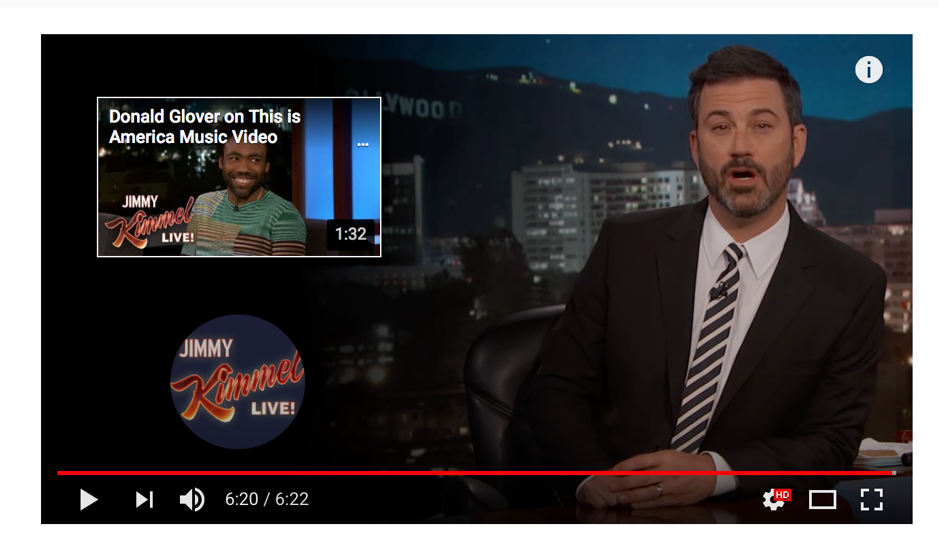 Jimmy Kimmel YouTube end screen