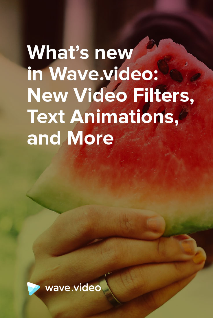 What's new in Wave.video