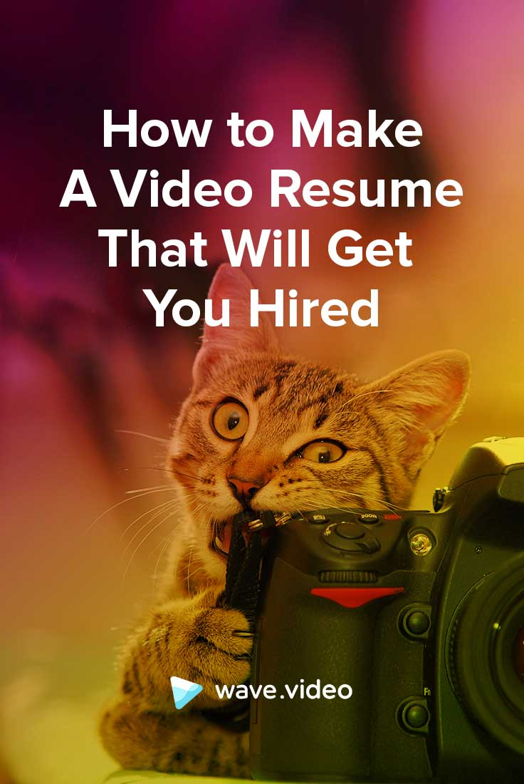 Video Resume: Professional Tips For Your Dream Career | Animatron Blog