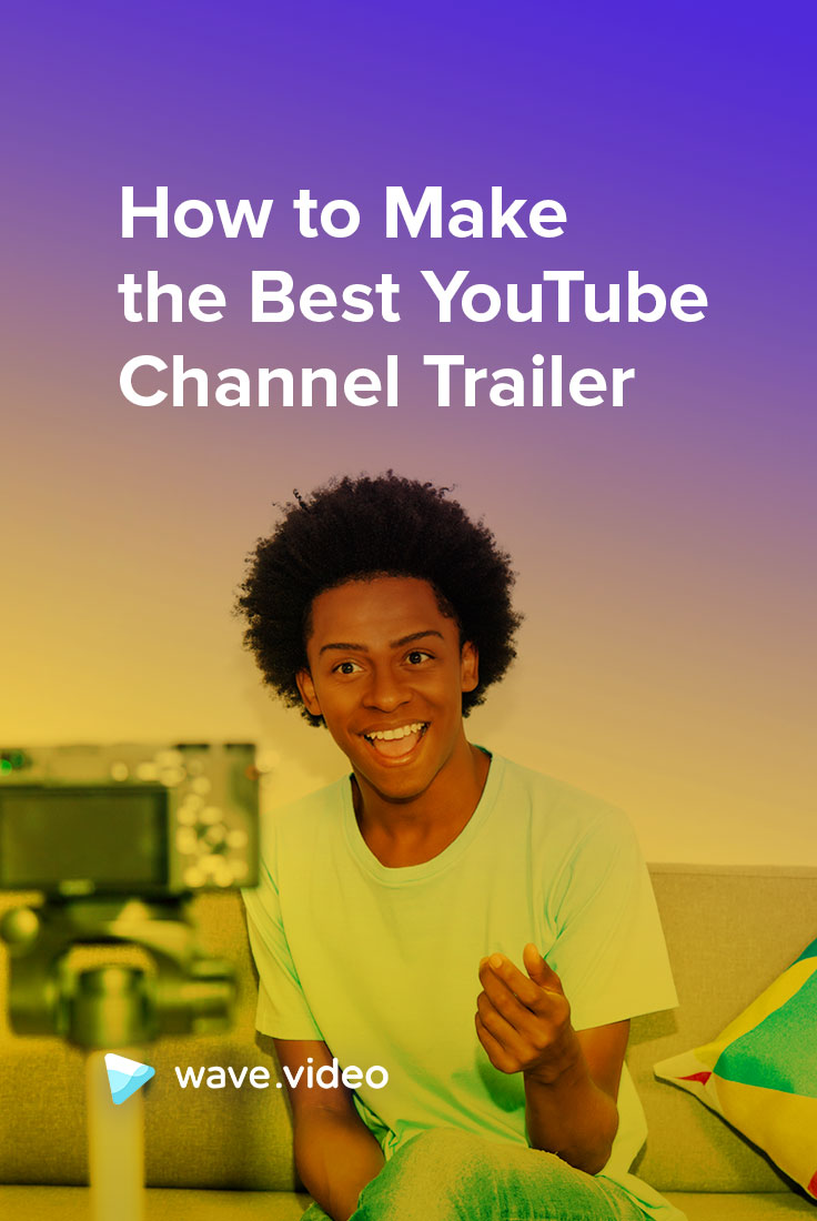 YouTube channel trailer Pinterest