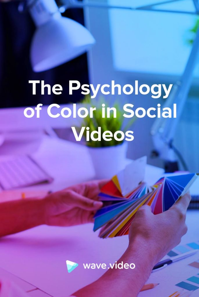 The Psychology of Color in Social Videos