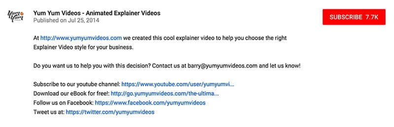 YouTube SEO YumYum Videos