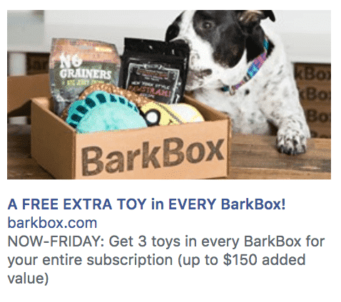 Barbox Ad - A Marketer's Guide to Personalization in Social Media Marketing
