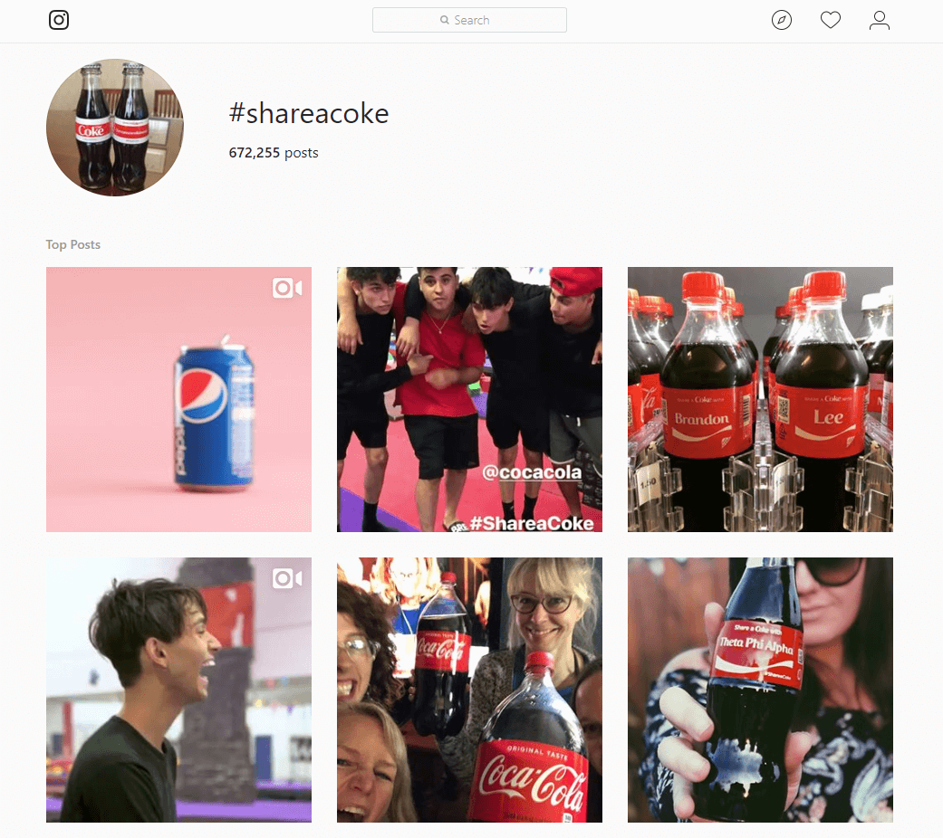 Coca-Cola - A Marketer's Guide to Personalization in Social Media Marketing