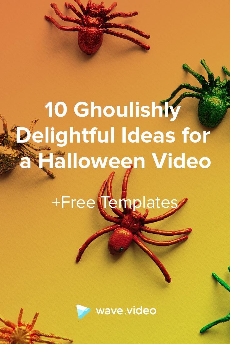 Halloween Video Ideas Pin