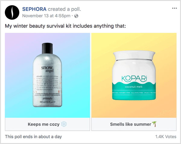 Sephora Poll - A Marketer's Guide to Personalization in Social Media Marketing