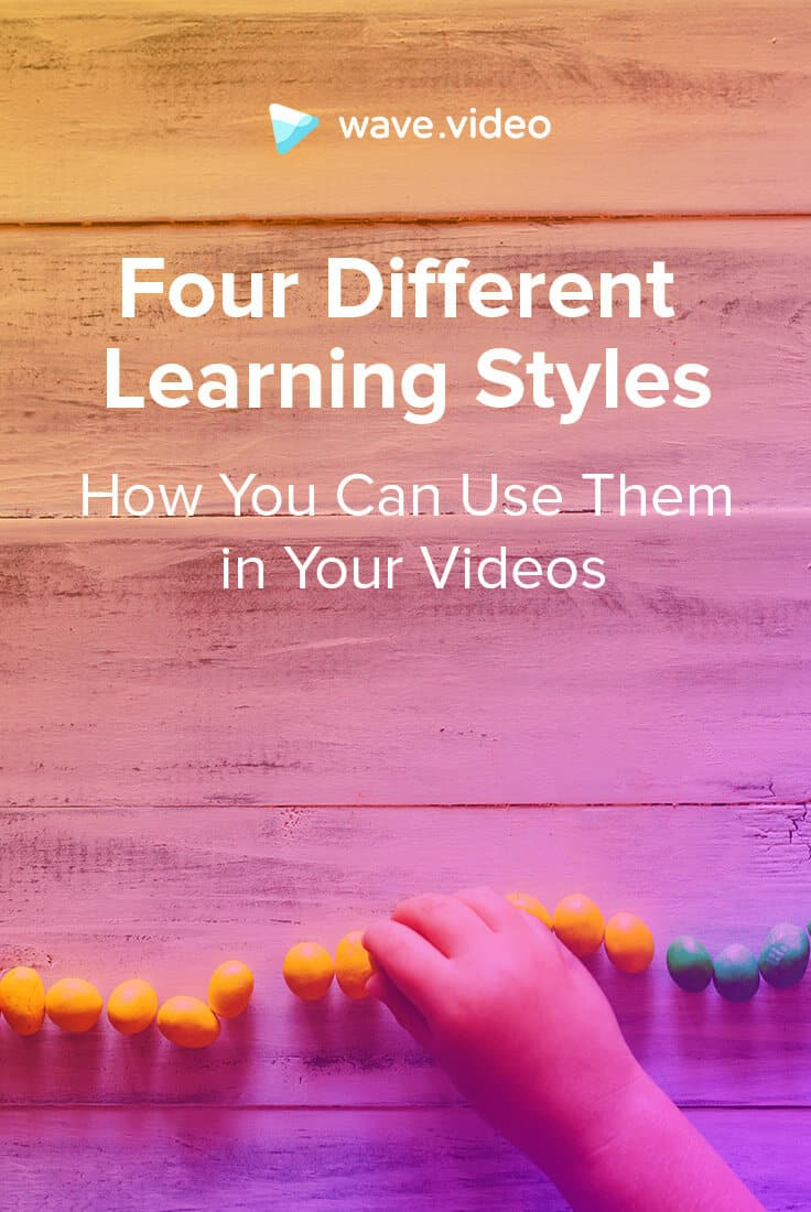 Four Different Learning Styles – and How You Can Use Them in Your Videos