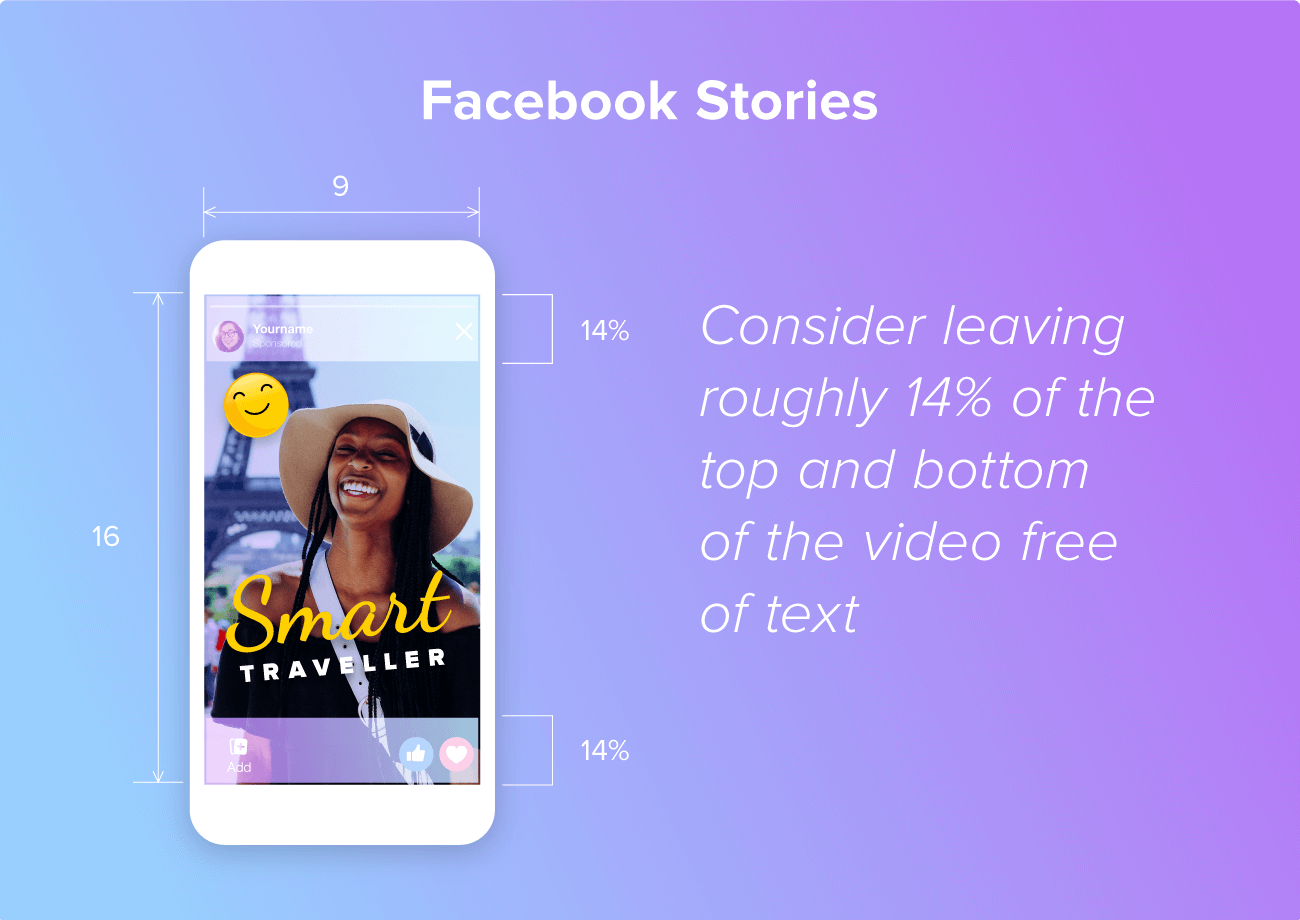 Facebook Stories video specs