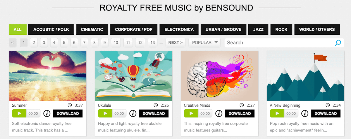 11 Best FREE Websites to Find Royalty-Free Music | Wave