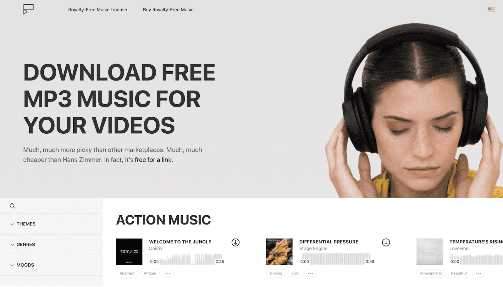Icon8 royalty-free music