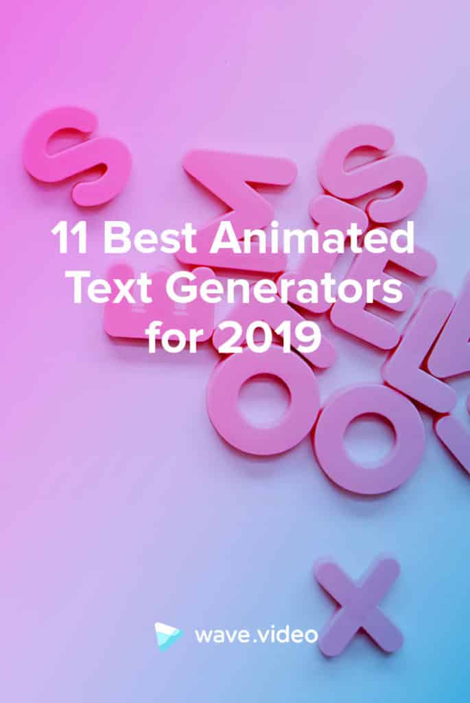 11 Best Animated Text Generators