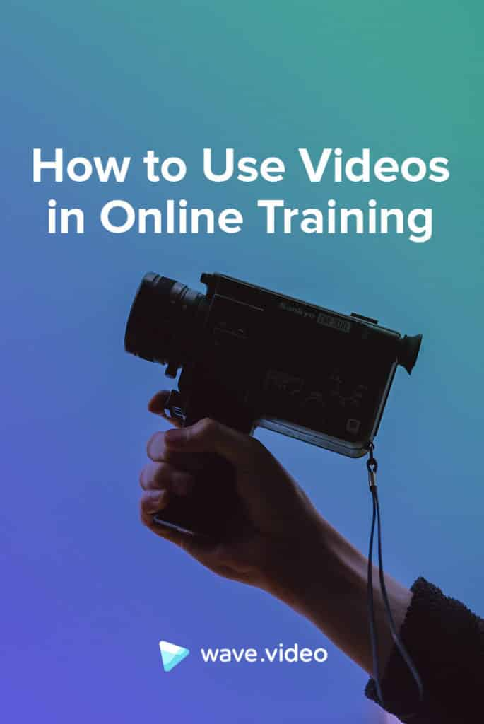 How to use videos in online training