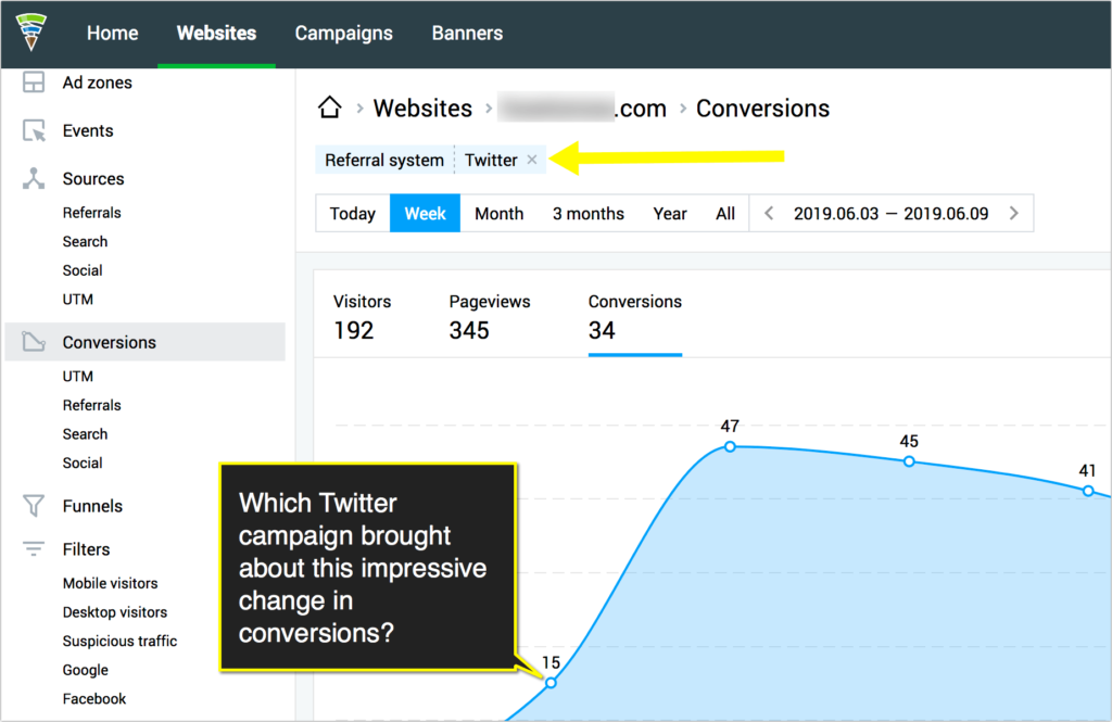 Promote video on twitter - conversions