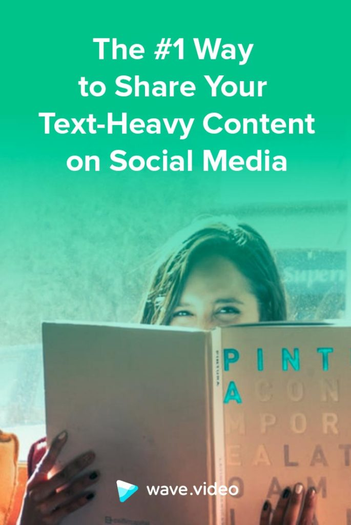 The #1 Way to Share Your Text-Heavy Content on Social Media