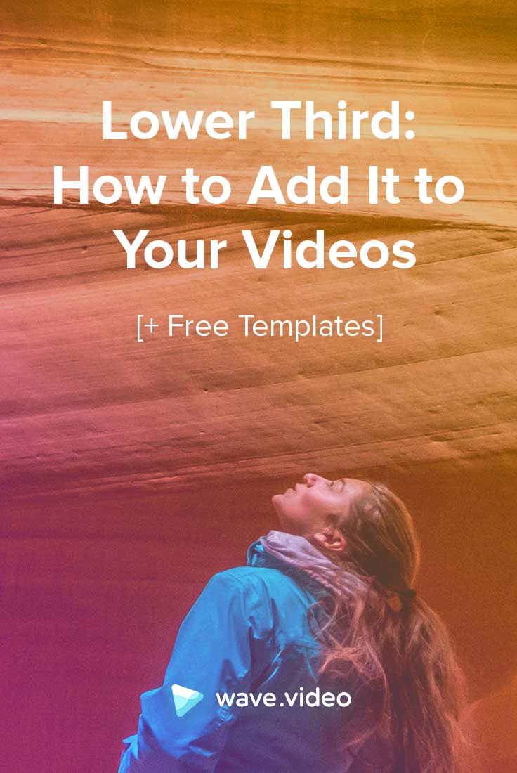 Lowe Third: How to Add It to Your Videos