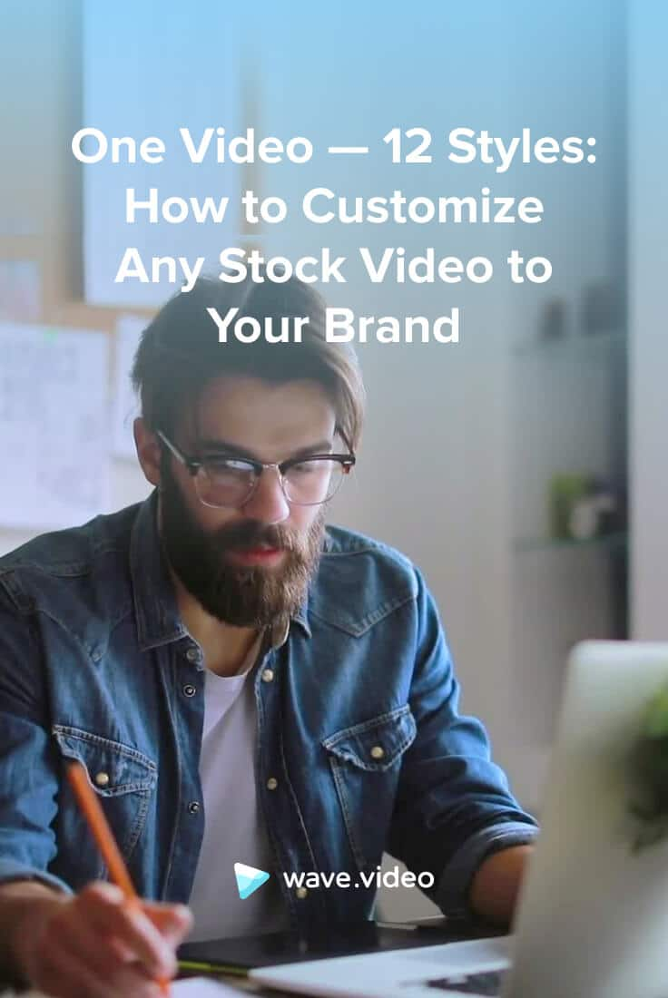 How to customize any stock video to your brand