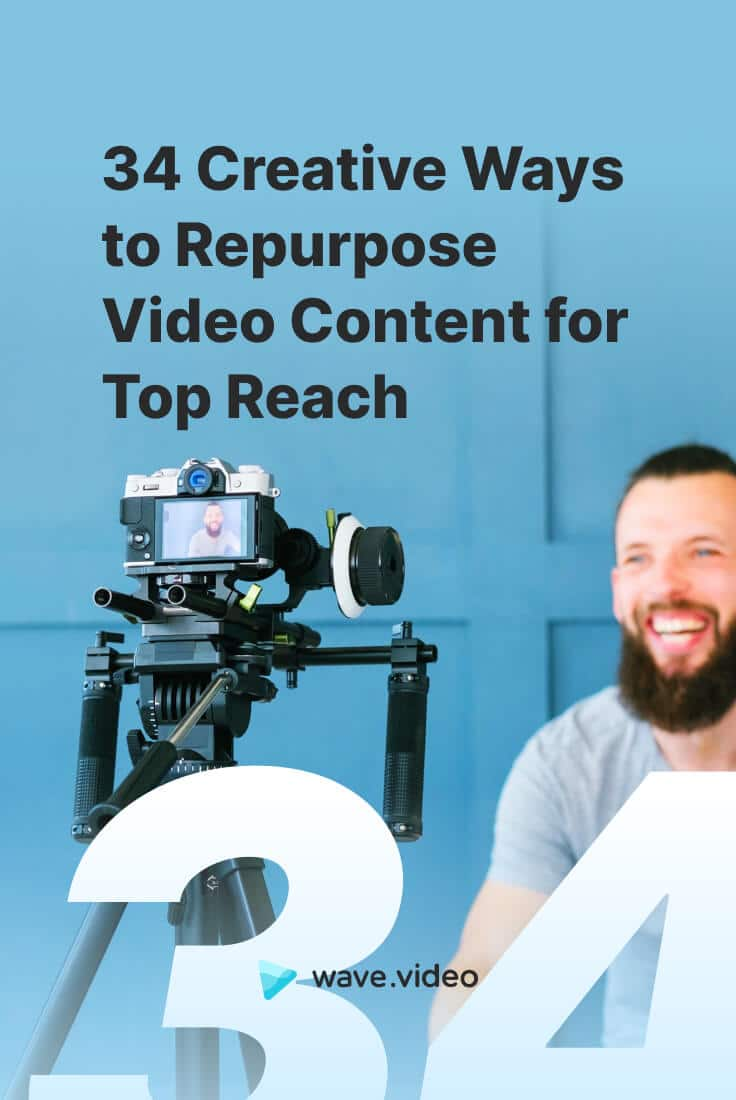 34 creative ways to repurpose your video content