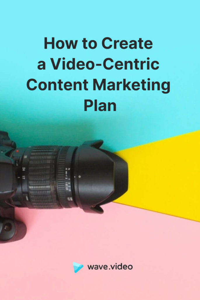 Video-Centric Content Marketing Plan
