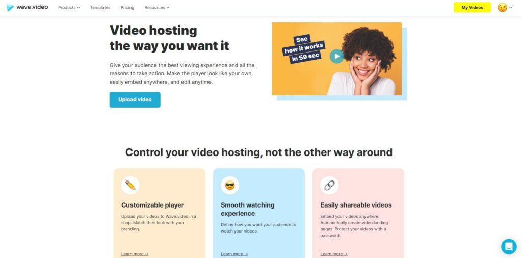 How to share videos - Wave.video hosting