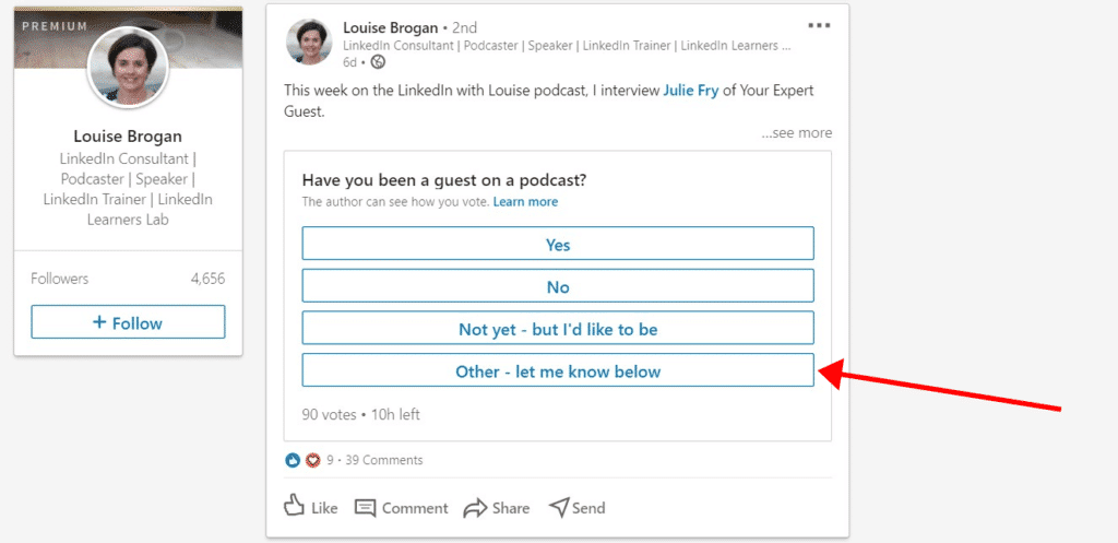 How to Generate Sales on LinkedIn With Videos - LinkedIn Poll