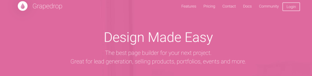 grapedrop-video-landing-page-maker