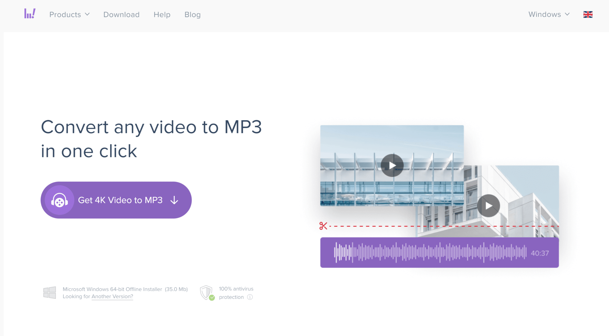 4K Video to MP3 Converter