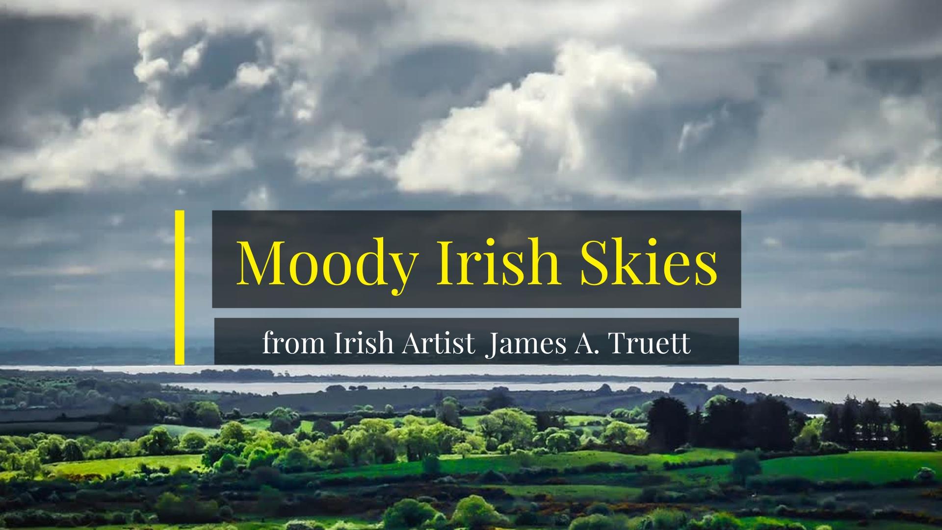 Moody Irish Skies