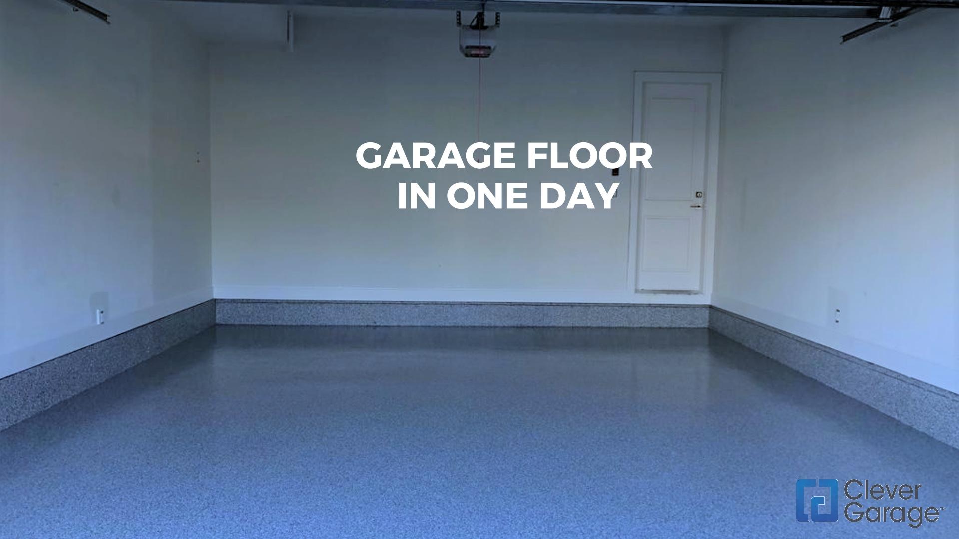 Garage Flooring Process