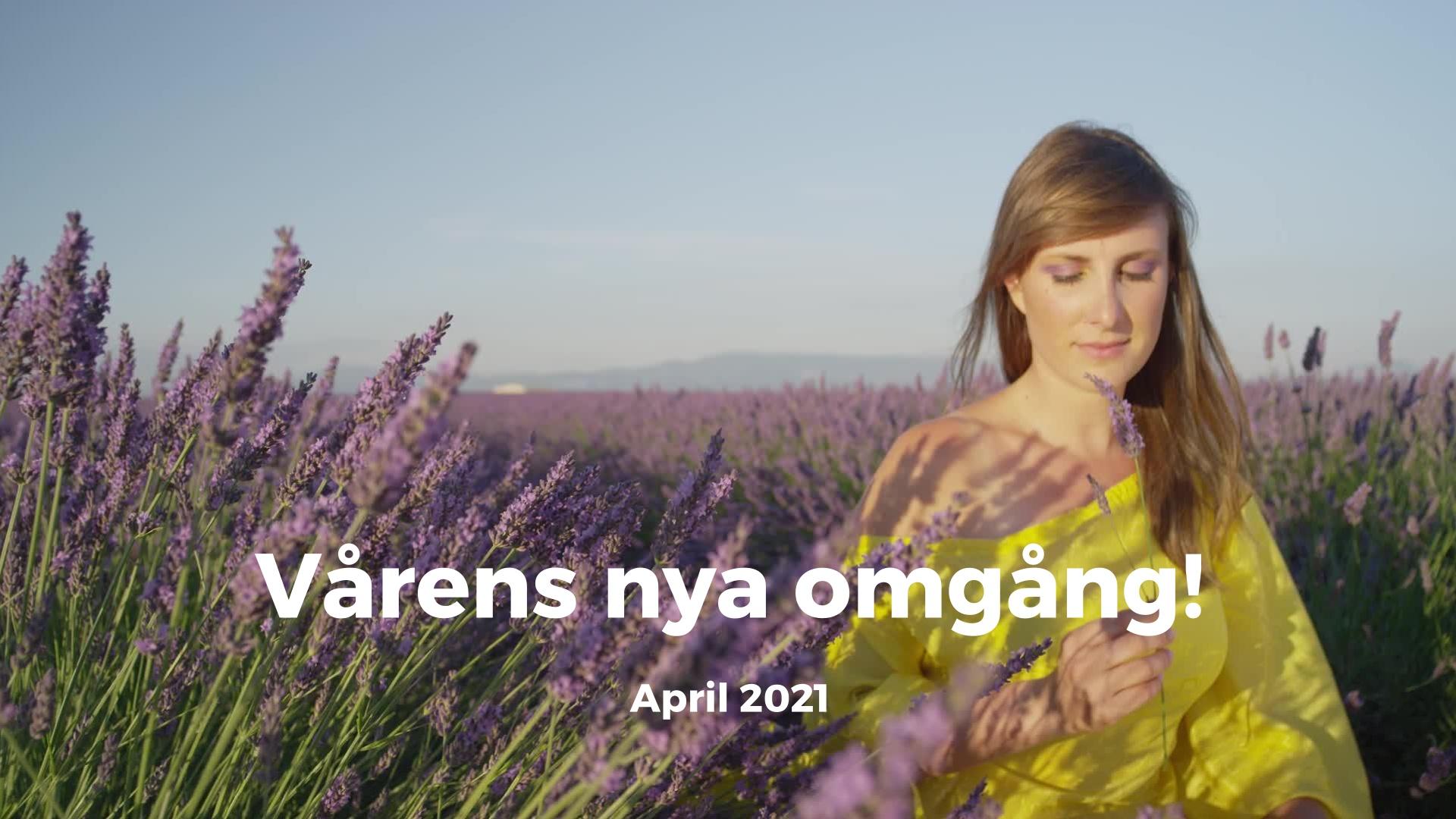 21-dagars april 2021 - reklamvideo - YT