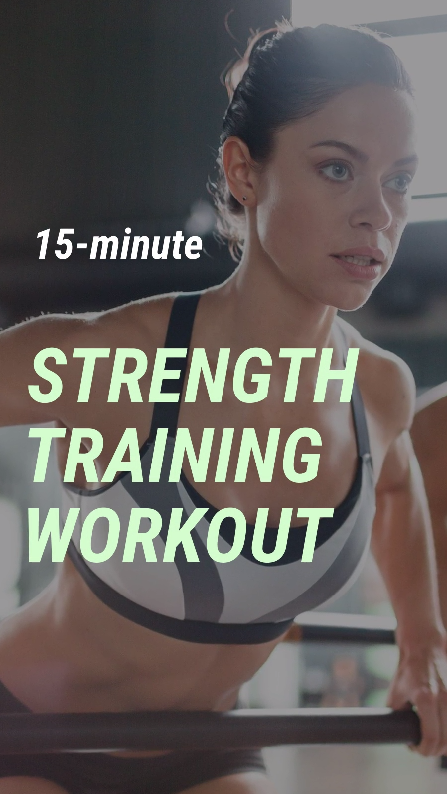 15-minute Workout IGTV Template