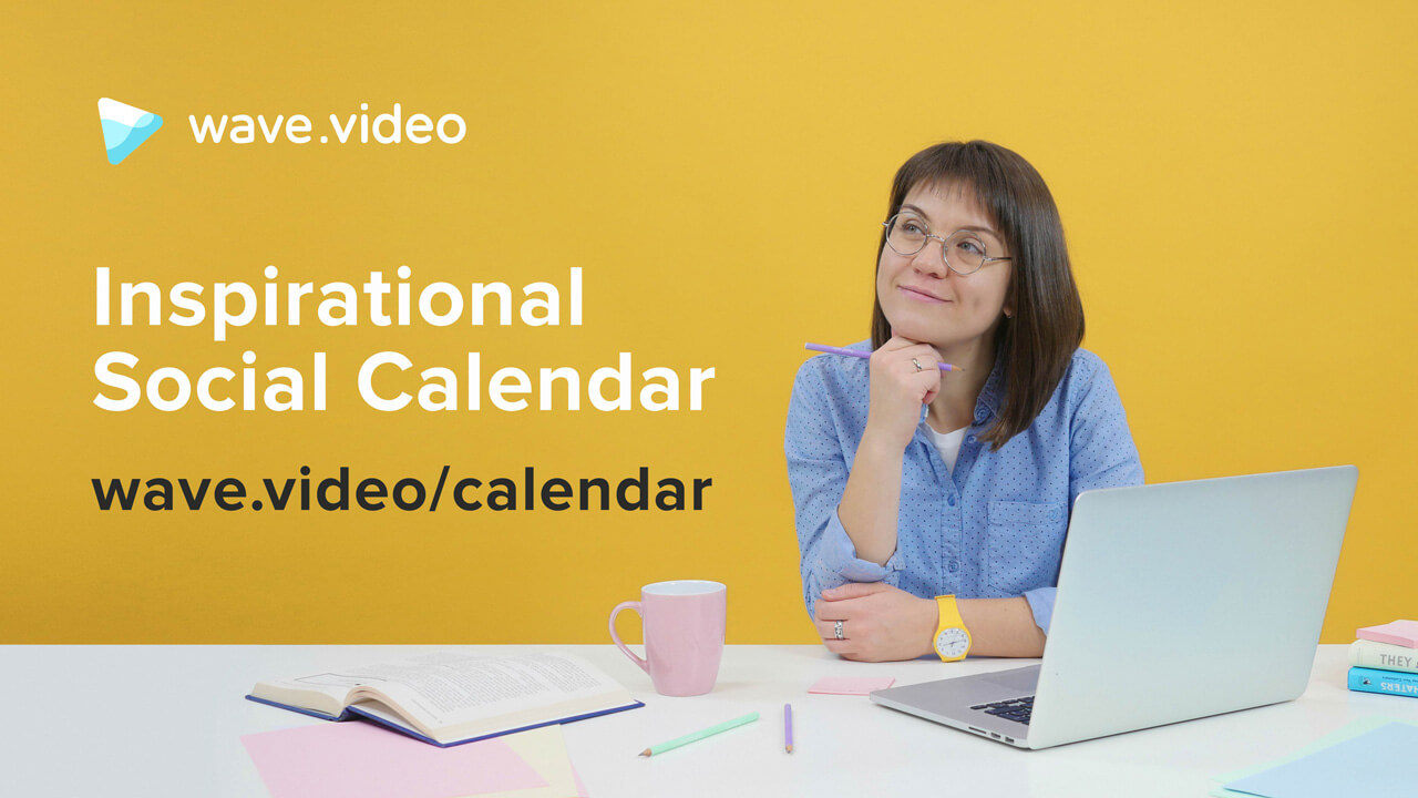 Wave Inspirational Social Calendar