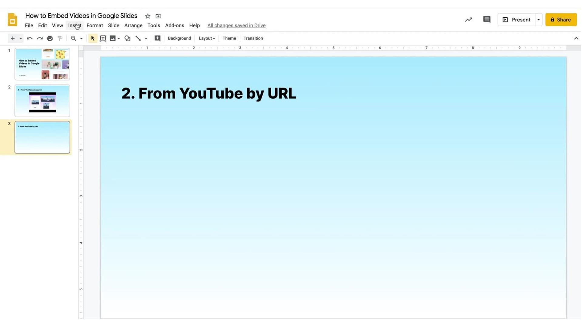 Video in Google Slides_YouTube_URL