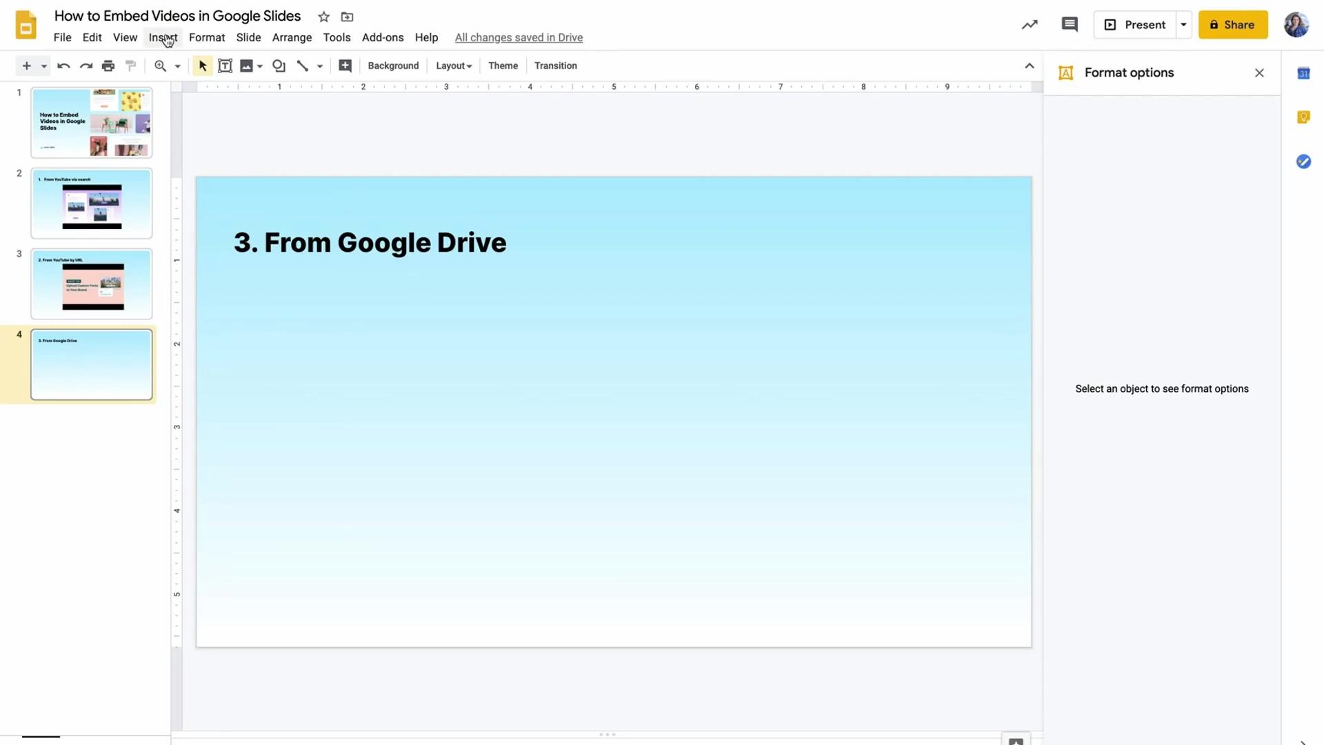 Video in Google Slides_GD