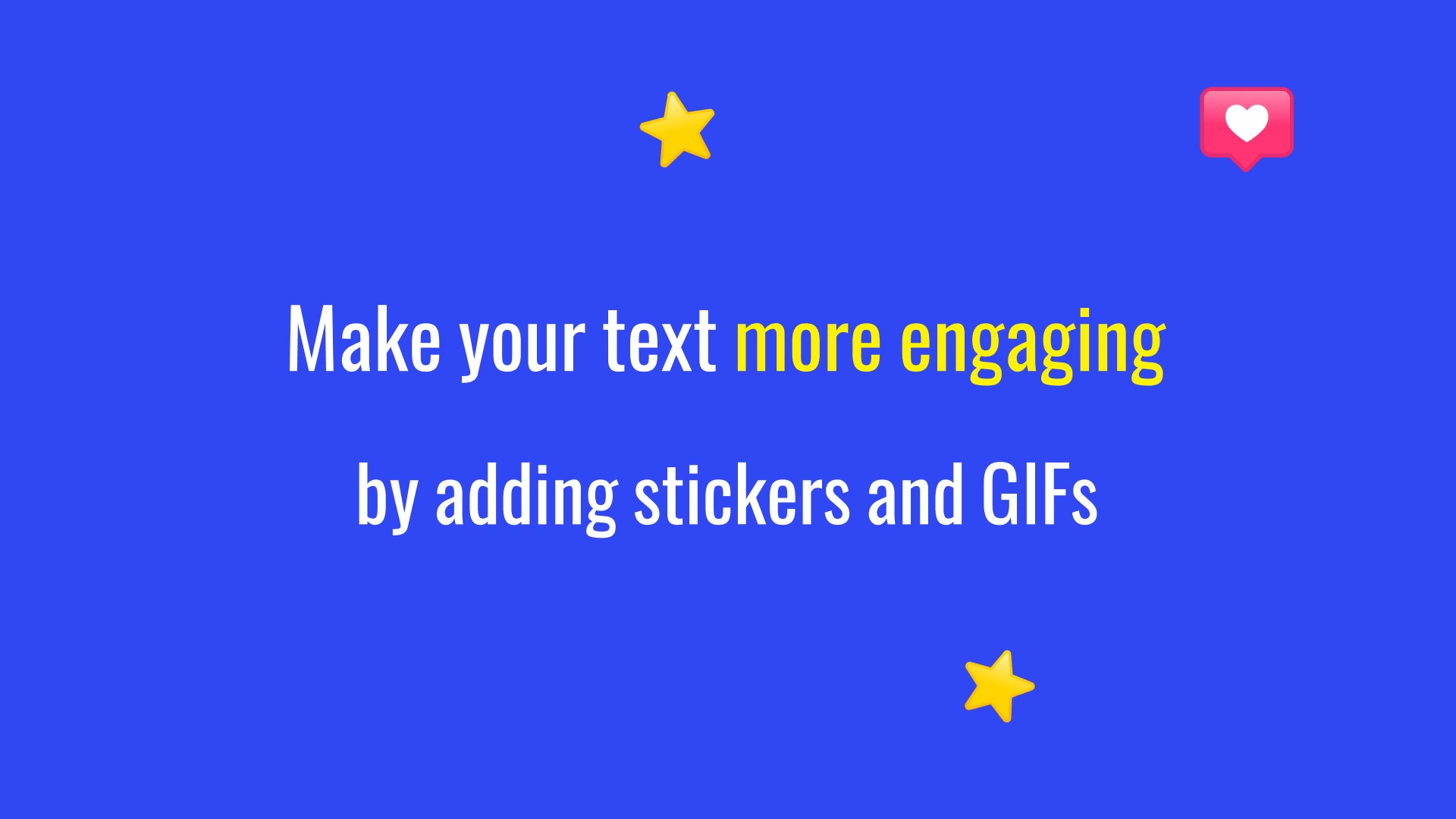 Make your text more engaging