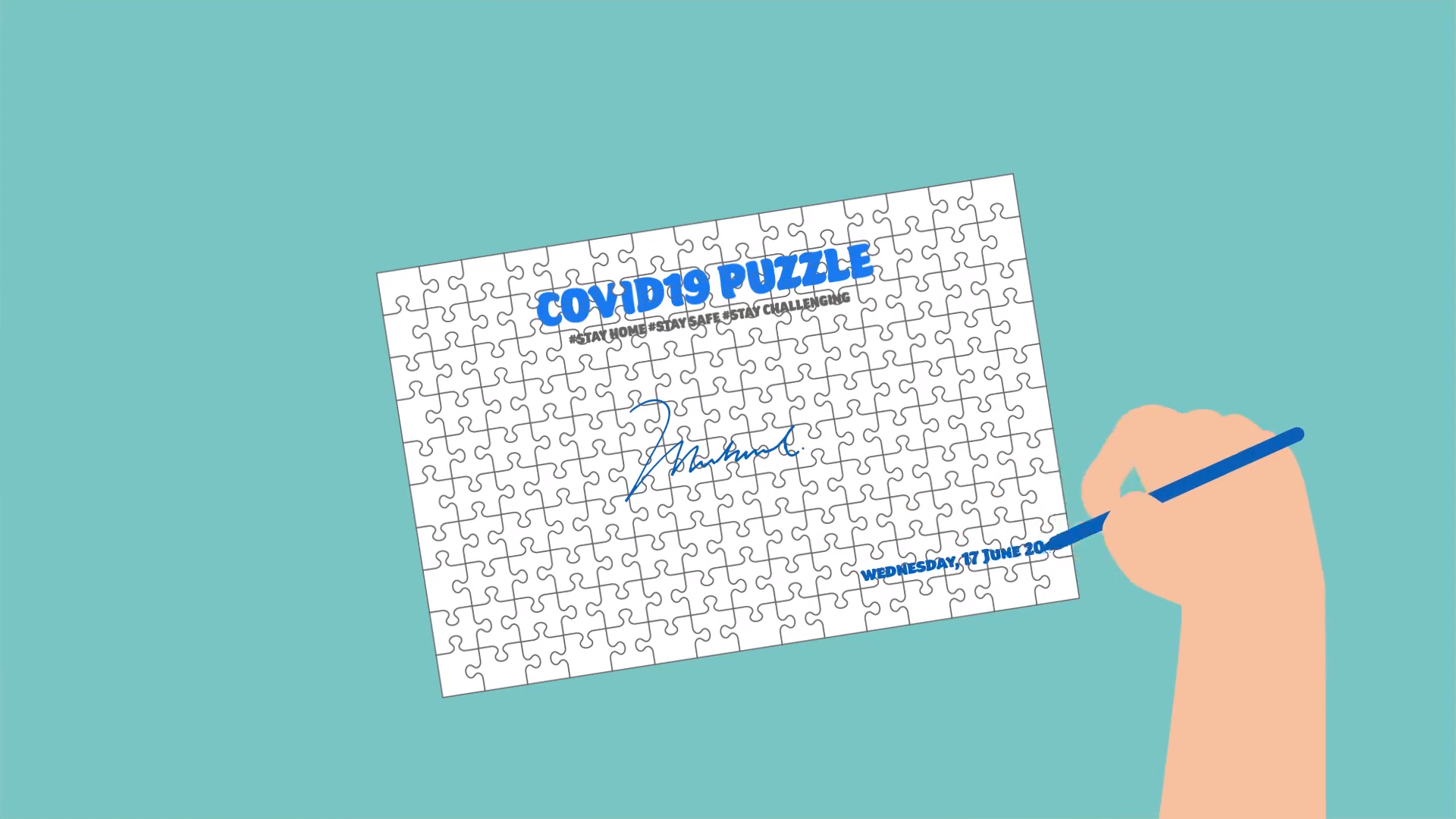 Jigsaw Puzzle Challenge Video (WIDE RESOLUTION)