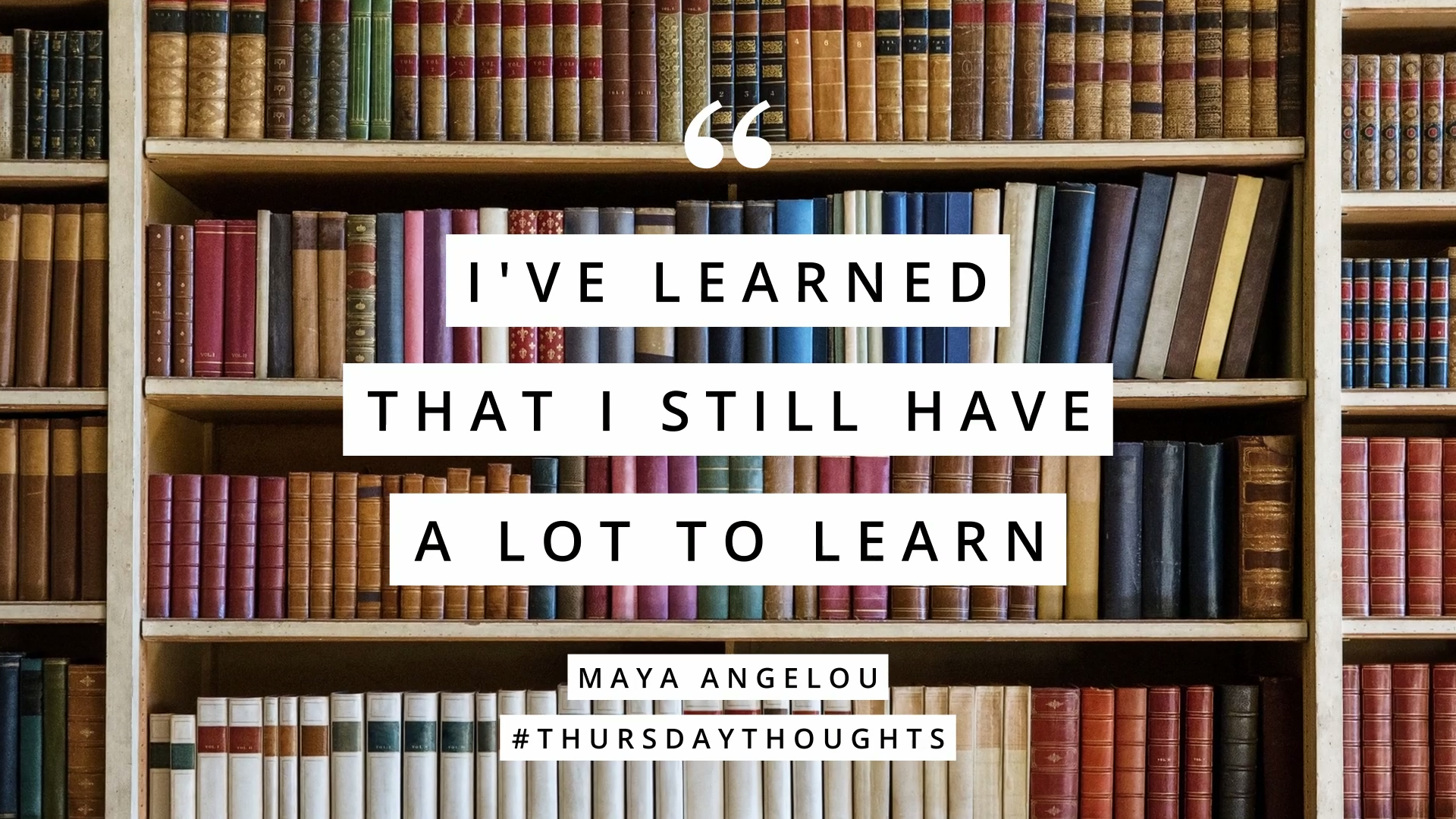 Thursday Thoughts Quote