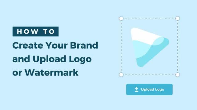 upload logo and watermark