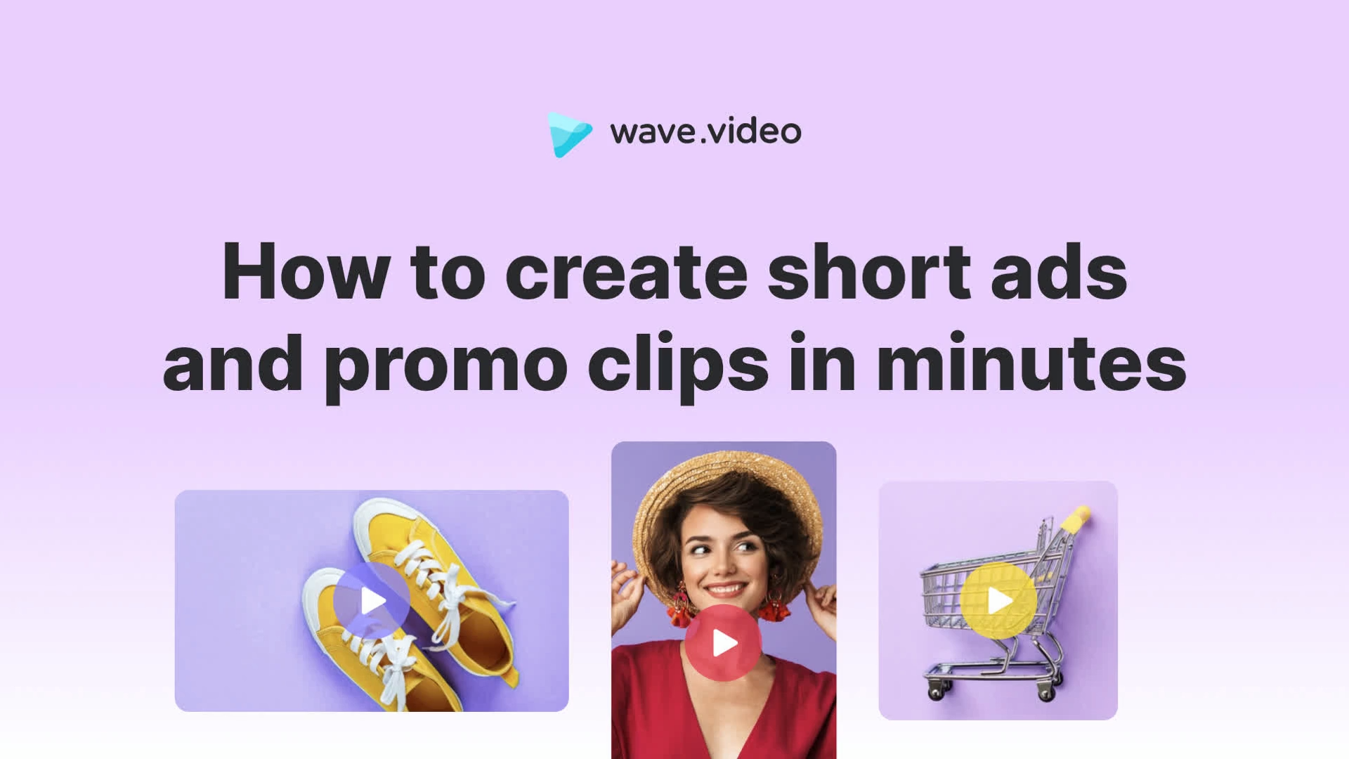 How to create short ads and promo clips in minutes