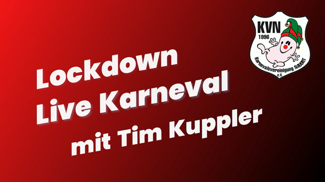 Lockdown Live Karneval - Tim Kuppler